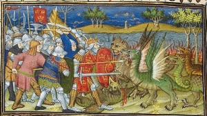 Illuminated Manuscript Battle