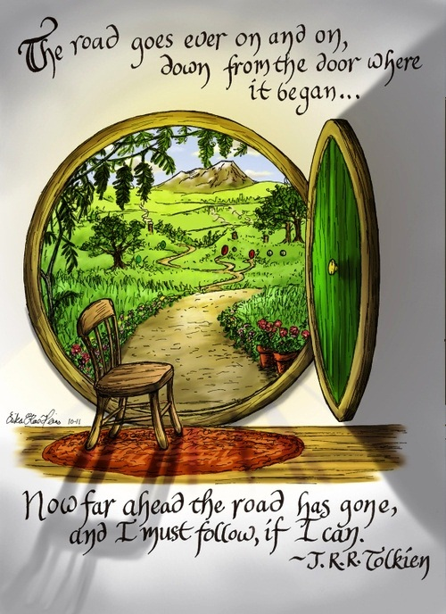 the-road-quote-tolkien